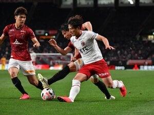 公式戦6連敗。常勝・鹿島の苦悩続く。ルーキー染野スタメン実らず浦和に0-1。