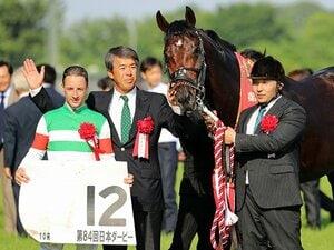初参戦から28年目のダービー制覇。藤沢和雄調教師「思った以上に……」