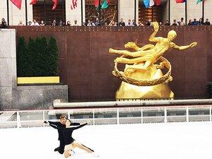 アイスダンス五輪王者が平昌向けエール。「日本のスケーターは、良いお手本」