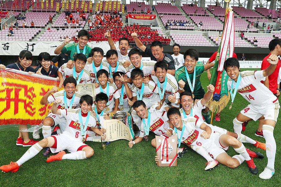 流経柏と日大藤沢はなぜ走れたか。酷暑のIHを勝ち抜いた2校の共通点。<Number Web> photograph by Kyodo News