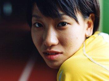 <世界陸上2011プレビュー> 福島千里&女子4×100mリレー 「ロンドン五輪で決勝へ!」<Number Web> photograph by Ryoukan Matsui