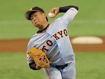 先制点を取られて「いい顔」になる。巨人・田口麗斗が即戦力なのは当然!<Number Web> photograph by NIKKAN SPORTS