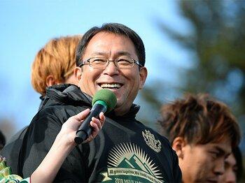J監督16年目、松本山雅では8年目。反町康治監督のJ1残留計画に迫る。<Number Web> photograph by J.LEAGUE