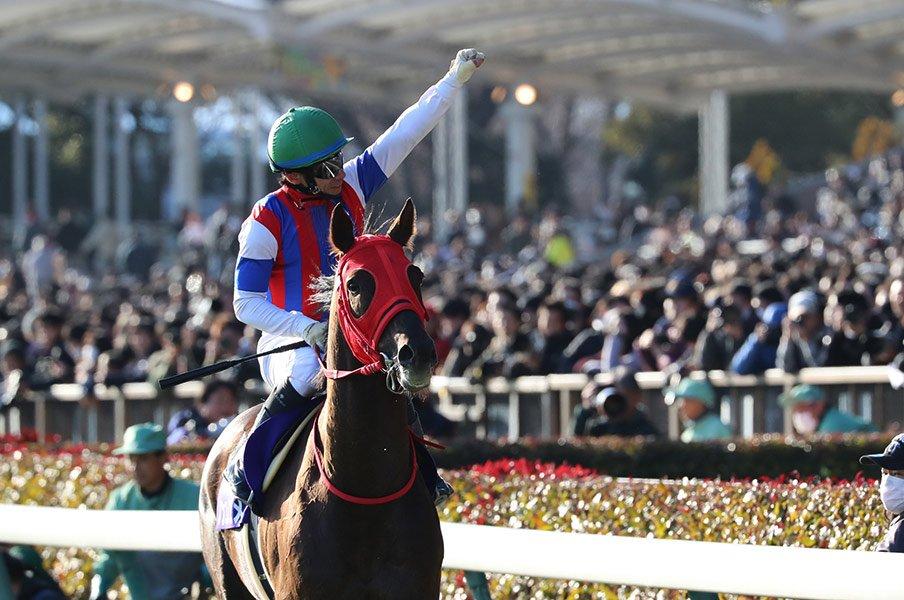内田博幸が選んだ「超大外」の理由。フェブラリーS王者はノンコノユメ。<Number Web> photograph by Yuji Takahashi
