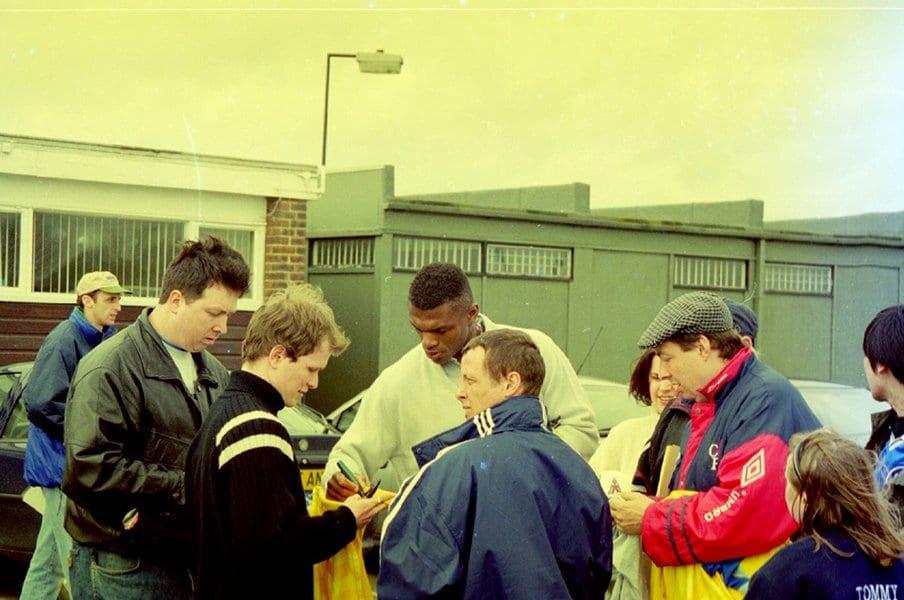 再開されたサッカーの高揚感。99年のテリーと20年のハーランド。<Number Web> photograph by Daiki Koga