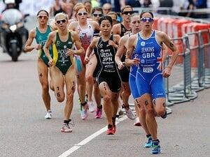 <トライアスロン女王への挑戦> 上田藍 「金メダルまで39秒」