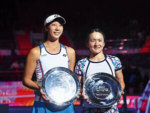 早くも3度優勝の青山&柴原ペア。五輪メダルを狙う二人だけの強み。~テニス界に現れた期待のコンビ~