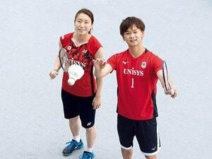 渡辺勇大&東野有紗は金メダルを狙う。バドミントン混合ダブルスは頭脳戦。