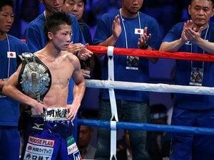完勝の日本王座奪取にも「未熟者」。井上尚弥、モンスターが背負う宿命。