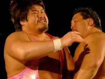 桜の季節にふと想う、プロレス界の人事異動。<Number Web> photograph by Essei Hara