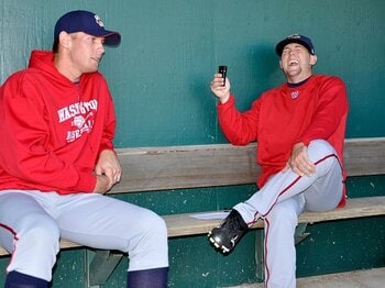 スマートフォンがメジャーを変える!?それでも消えない男同士の絆を見た。<Number Web> photograph by Diamond Images/Getty Images
