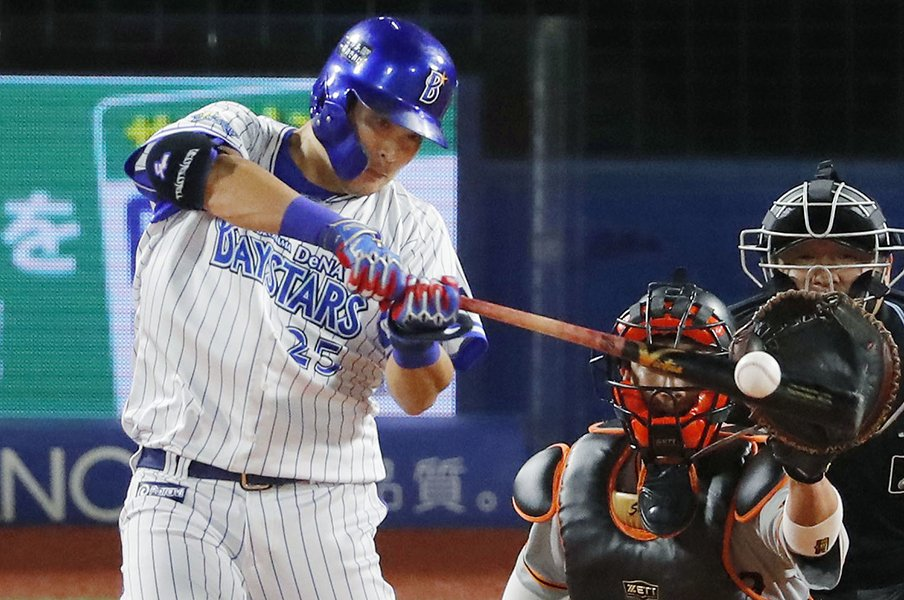 「逆転本塁打を打たれたかと思った」筒香嘉智のスイング、メジャーが絶賛。<Number Web> photograph by KYODO