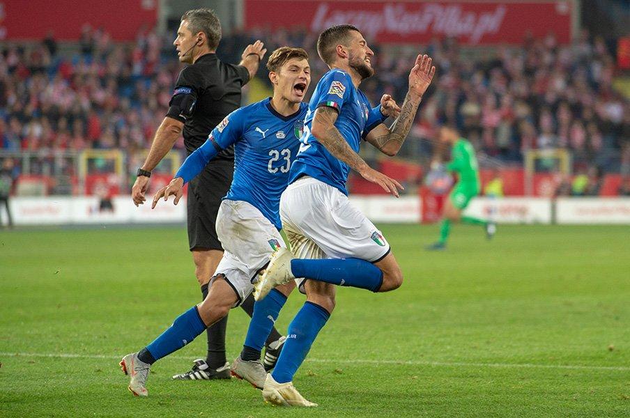「イタリア最高のMF」はまだ21歳。サッカーも結婚も早熟な男バレッラ。<Number Web> photograph by Getty Images