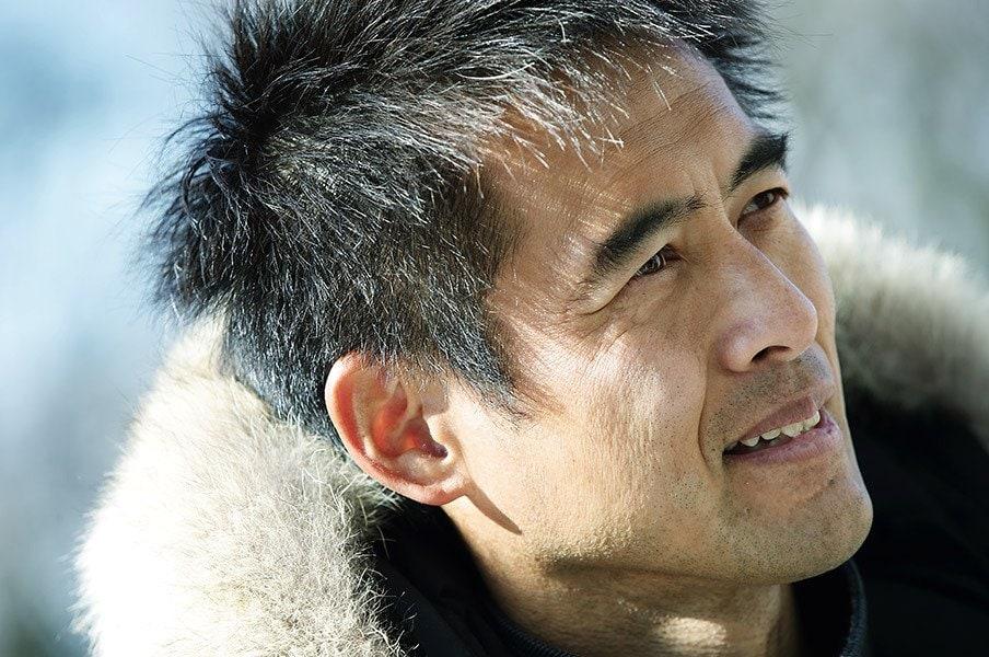 日本代表116キャップはGKとしては史上最多。その佇まいには、彼が重ねたキャリアと実績が確かに刻まれている。