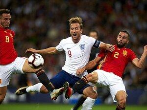 W杯で燃えたイングランドに秋風。スペイン、スイス戦の厳しい現実。