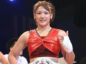 立ち技総合格闘技Girls S-cup3連覇。女王RENAが辿り着いた孤高の境地。