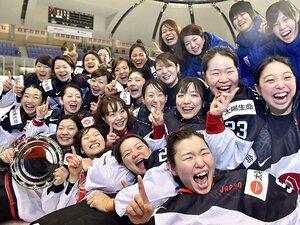 「日本=運動量」という代名詞の話。男女のアイスホッケーを例に考える。