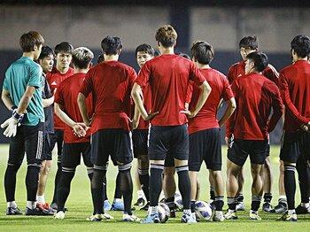U-23選手権、ポジション争い構図。東京五輪の18人に生き残るのは誰?<Number Web> photograph by Kyodo News