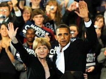 オバマを窮地に追い込んだ、レッドソックス・ファンの「怒り」。<Number Web> photograph by Getty Images