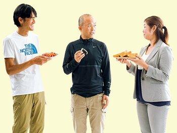 <スペシャリストに聞く「食」> レース前、カーボローディングは必要か? ~金哲彦×鏑木毅×関根豊子~<Number Web> photograph by Miki Fukano