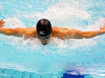 日本競泳界の常識を越える萩野公介。パンパシでもメダルラッシュなるか!?<Number Web> photograph by AFLO SPORT