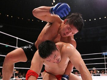 "DREAMでの""完勝""では物足りない!石井慧に日本格闘技界が望むこと。<Number Web> photograph by Susumu Nagao"