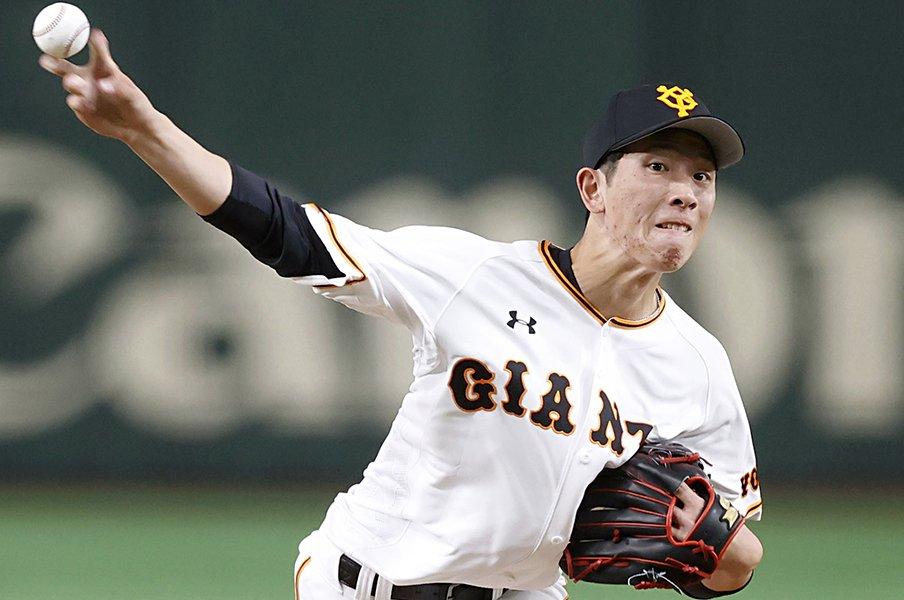 セの新人王は「この男」と予想する。巨人で戸郷翔征が2ケタ勝つ可能性。<Number Web> photograph by Kyodo News