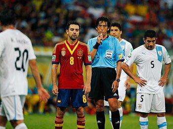 スペイン代表が驚きの布陣変更。裏には監督によるシャビへの配慮!?<Number Web> photograph by Keita Yasukawa