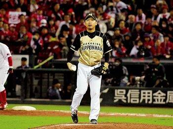 """代表に谷元圭介という""""ユーティリティ投手""""を。~中継ぎ、抑え、そして先発でも!?~<Number Web> photograph by Hideki Sugiyama"""