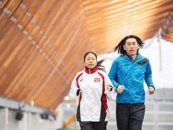 高田千明「走り幅跳びに挑戦したい!」突然の転向に大森コーチは何を思った?<Number Web> photograph by Nanae Suzuki