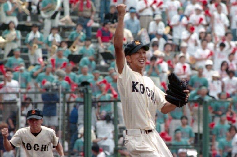 藤川球児/高知商 / photograph by Kyodo News