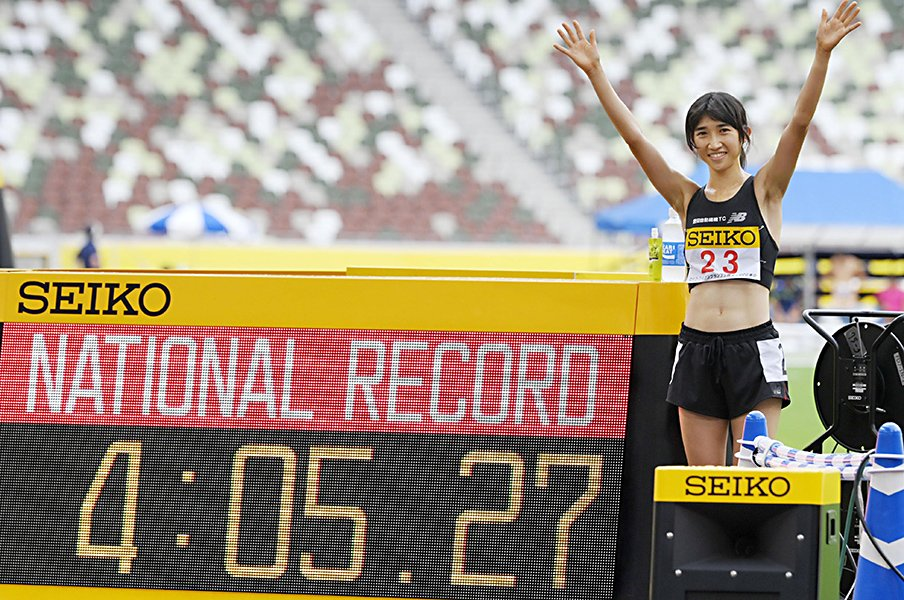 独走しても「もう10~15秒速く走れないと世界と戦えない」… 田中希実が元選手の父親と歩んだ道〈1500m日本新〉