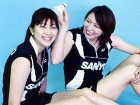 小椋久美子&潮田玲子 オグシオを追跡。