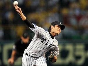 藤浪晋太郎が「エース」になった日。鶴岡の一言に滲んだチームの空気。