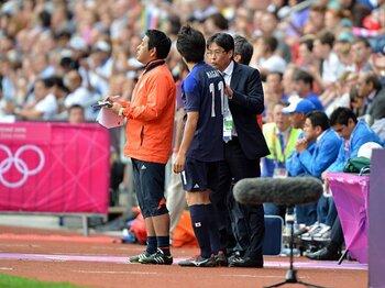 グループリーグと違う戦い方を見せろ!エジプト戦、関塚ジャパン2つの課題。<Number Web> photograph by Ryosuke Menju/JMPA
