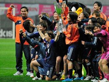 「サッカー王国に勝てた!」なでしこは金メダルに近づいたのか?<Number Web> photograph by Asami Enomoto