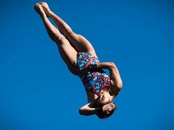 メダルを目指すダークホース3競技。飛込み、フェンシング、体操の矜持。<Number Web> photograph by AFLO