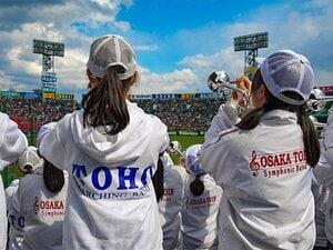 東邦、習志野、そして大阪桐蔭。センバツ決勝での応援と友情の輪。
