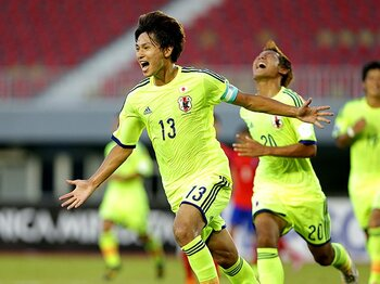 U-20W杯への大一番、相手は北朝鮮。注目は南野拓実と、2人の超成長株。<Number Web> photograph by AFLO