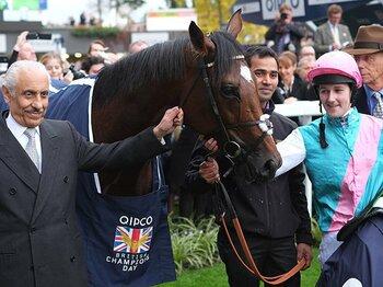 14戦無敗のフランケル、27年ぶりの新史上最強馬に。~英国の優駿に与えられた高評価~<Number Web> photograph by AFLO