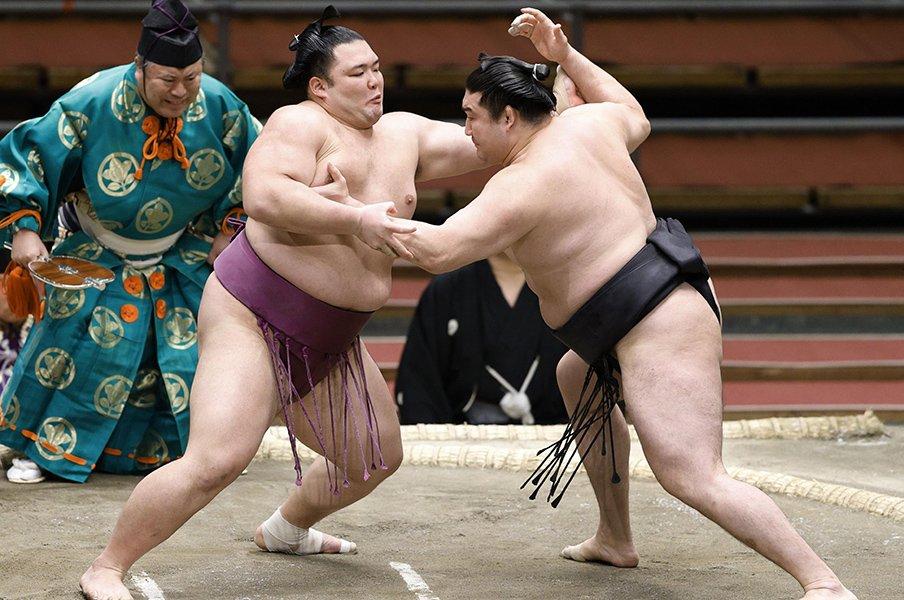 """朝乃山の次の""""突出者""""は誰なのか。史上初のデータと、多すぎる候補者。<Number Web> photograph by Kyodo News"""