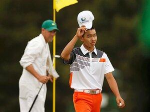 """""""身の丈""""ゴルフでマスターズを席巻。14歳の天才グァン、強さの秘密を探る。"""