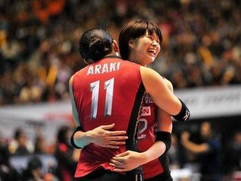 木村沙織のエースとしての自覚が、W杯で全日本女子を「ひとつ」に。<Number Web> photograph by AFLO