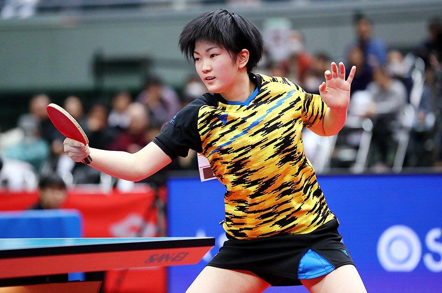 14歳・木原美悠の潜在能力がすごい。卓球特有の「促進ルール」にも即応。<Number Web> photograph by AFLO