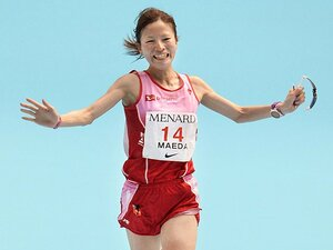 超マイペースなニューヒロイン。女子マラソン、前田彩里とは何者?
