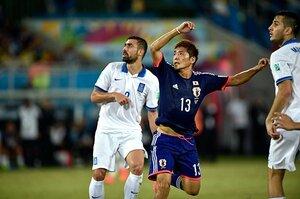 [ブラジルW杯/グループC第2戦:日本vs.ギリシャ]圧倒的にゲームを支配するも、堅守ギリシャのゴールネットを揺らせず。GL突破はコロンビア戦へ。