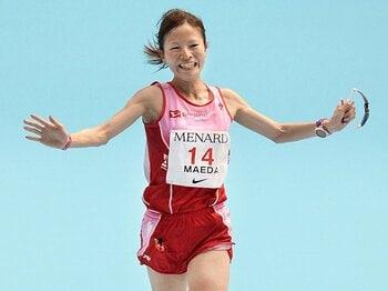 超マイペースなニューヒロイン。女子マラソン、前田彩里とは何者?<Number Web> photograph by Kyodo News