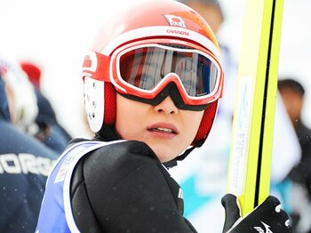 ソチ五輪を前に支援が打ち切り――。女子ジャンプ・渡瀬あゆみ、夢の行方。<Number Web> photograph by Shino Seki