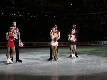 相次ぐペアとアイスダンスの解散劇。世界のフィギュア界で、いま何が?<Number Web> photograph by Getty Images