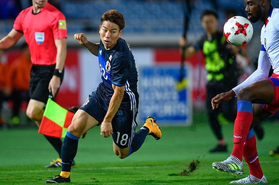 「こうやって代表選手は変わるんだ……」浅野拓磨が代表で感じた、ある変化。<Number Web> photograph by Takuya Sugiyama